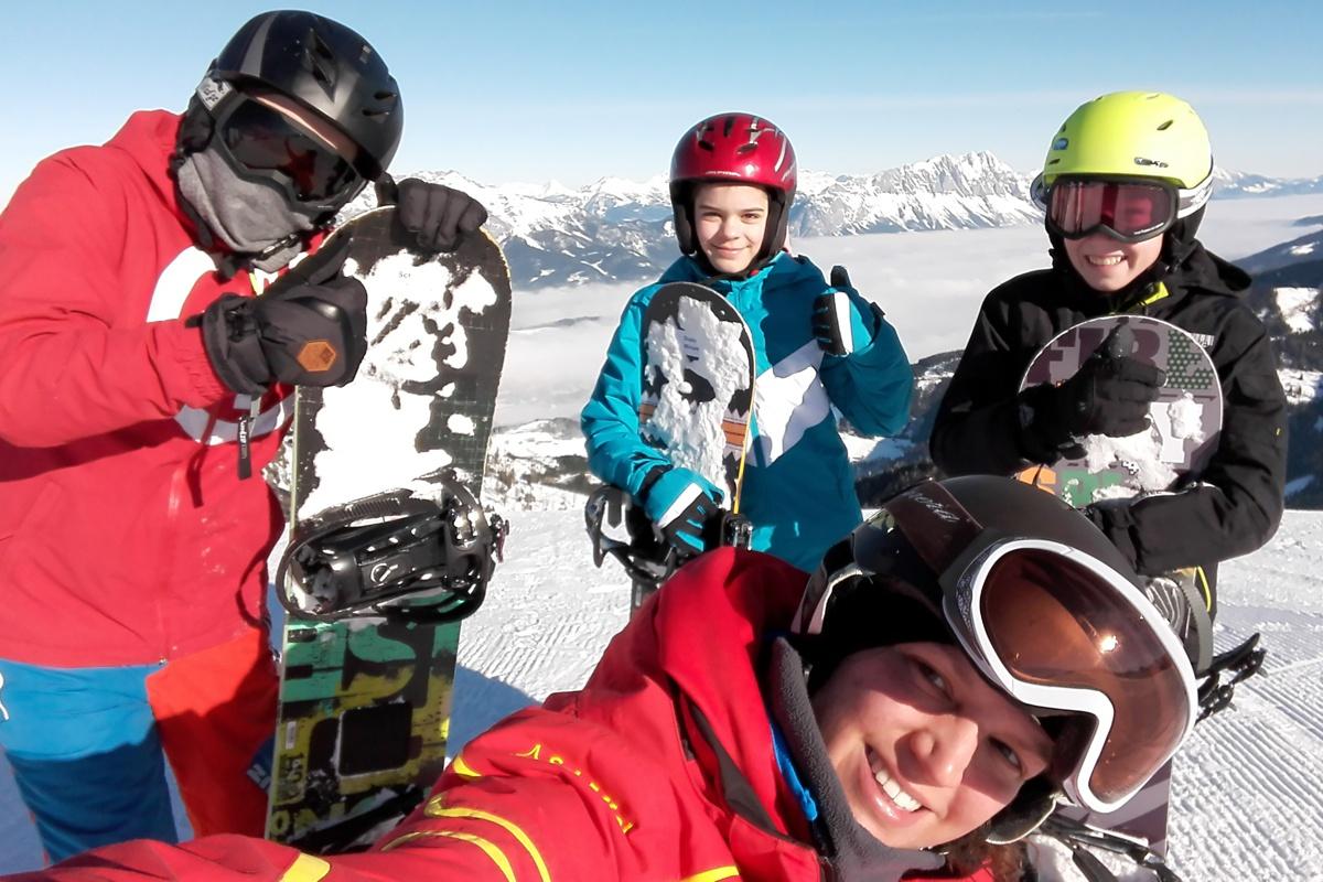 das richtige snowboard