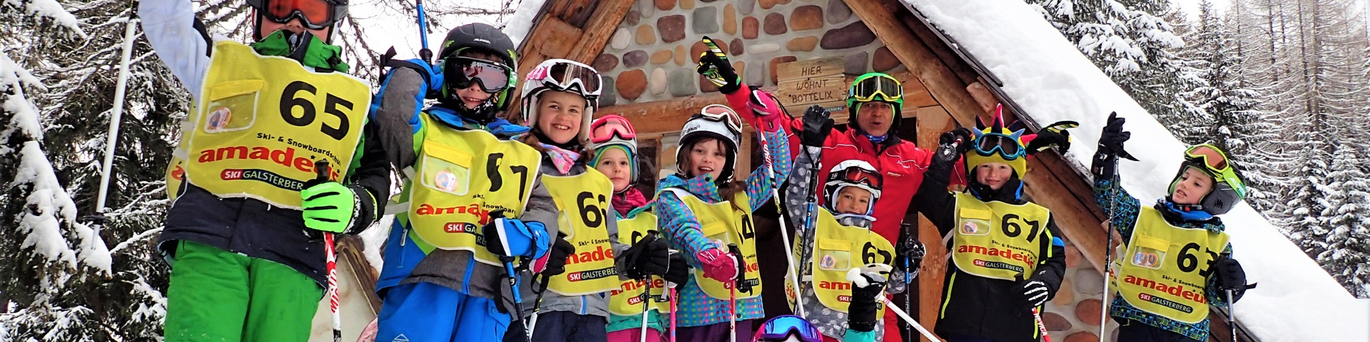 Siegerehrung Kinderskirennen