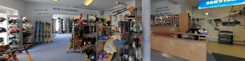 Skiverleih-Shop